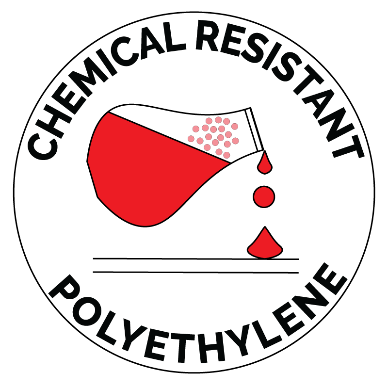 Chemical Resistant Badge