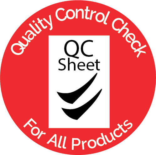 Quality Control Check Badge